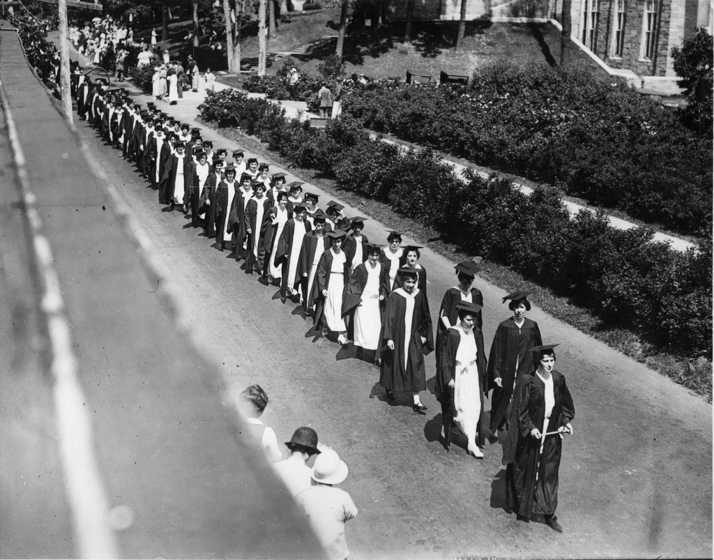 Commencement Procession, Wellesley College